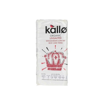 Kallo Rice Cake No Added Salt  130g