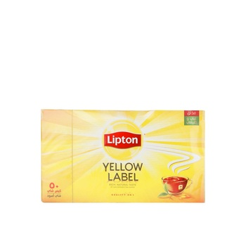 Lipton Yellow Label Tea Bags 50 X 2g