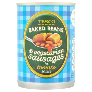 Tesco Vegetarian Beans Sausages 395g