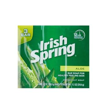 Irish Spring Soap Aloe 104ml Pack of 3