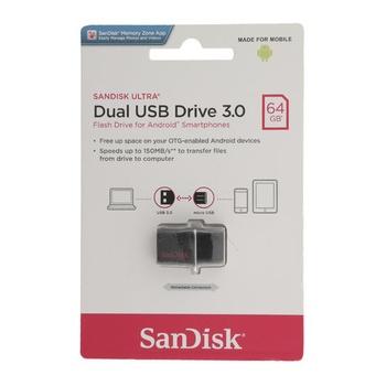 Sandisk Dual USB Drive 3.0 Dd2 64 GB