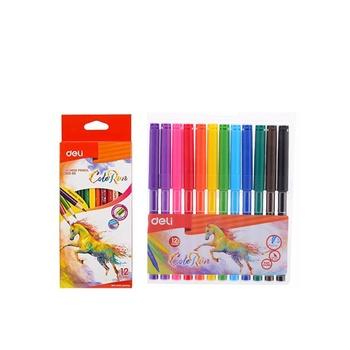 Deli 12 Col Pencil+12 Col Felt Pen