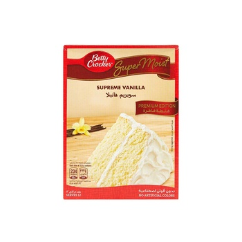 Betty Crocker French Vanilla Premium 510g
