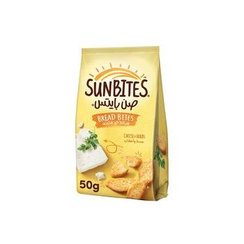 Sunbites Bread Bites Cheese & Onion 50g