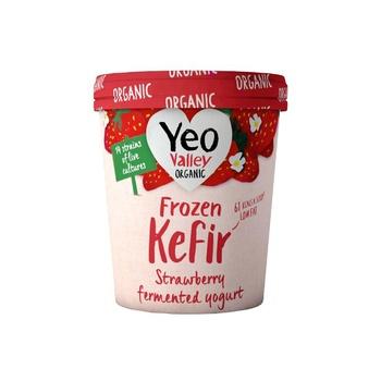 Yeo Valley Kefir Frozen Strawberry 480ml