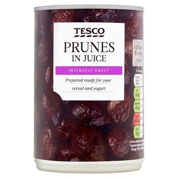 Tesco Prunes In Juice 410g