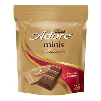 Quanta Ador Milk Chocolate Pouch 275g