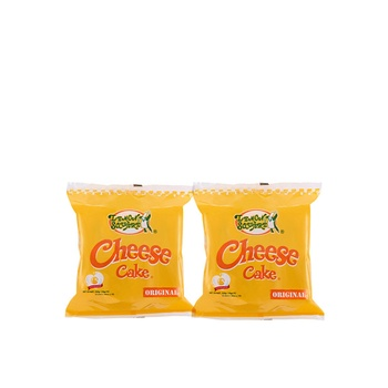 Lemon Square Cheese Cake 10X30g Buy 2 Pack @Aed 15