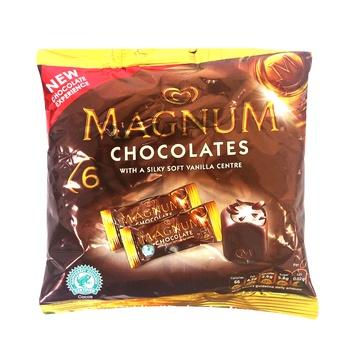 Walls Mini Magnum Chocolate Bags 68g