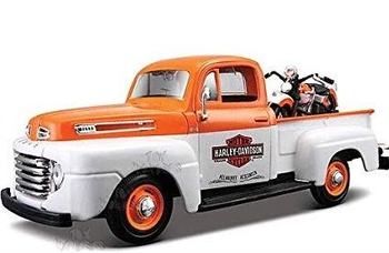 Maisto Die cast Pick-Up Truck Harley Davidson