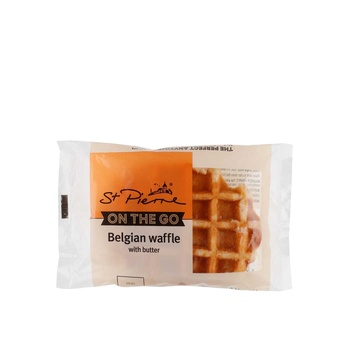 St Pierre Belgian Sugar Waffles With Butter 90g