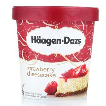 Haagen Dazs Cheese Cake Strawberry 500g