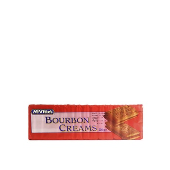 Mcvities Bourbon Cream Biscuit 200g