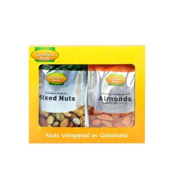 Goodness Foods Mix Nut Roasted 200g+Almond 200g