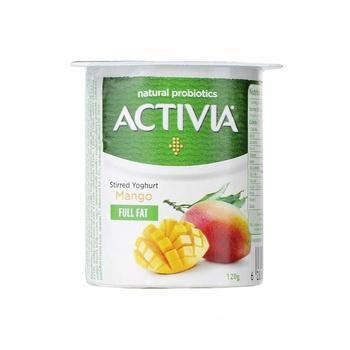 Activia Stirred Yoghurt Mango 120g