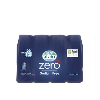 Al Ain Zero Sodium 12 x 200ml
