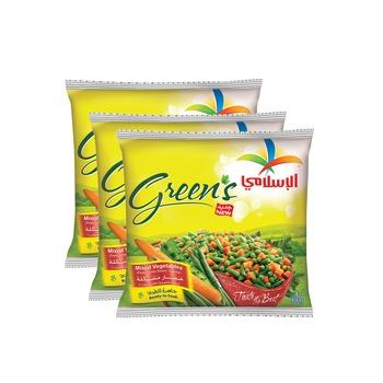 Al Islami Greens Mixed Vegitable 3X400g
