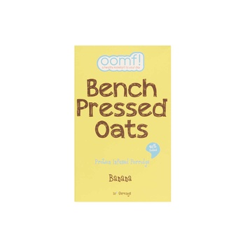 Oomf Bench Pressed Banana Oats 500G