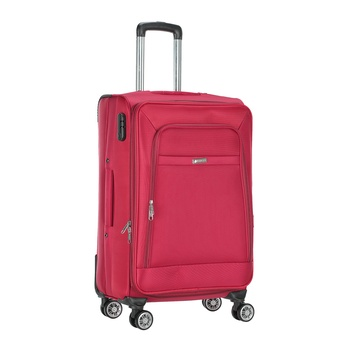 Voyager Trolley Bag  Red -24 inch