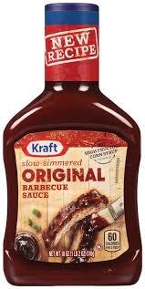 Kraft Bbq Sauce - Original 18 OZ