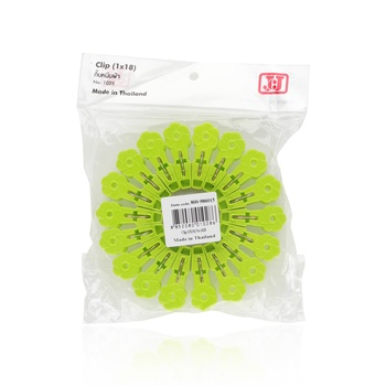 JCJ Plastic Cloth Clip 18pcs # 1028