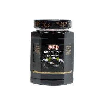 Stute blackcurrant conserve extra jam 340g