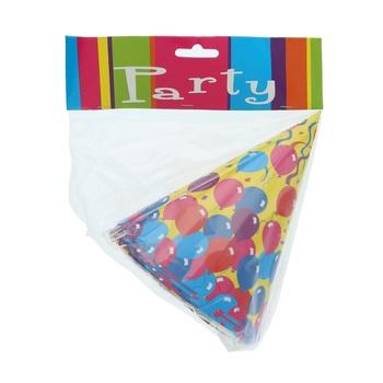 Festive Party Hat- 6pcs pack