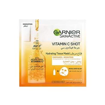 Garnier Fresh-Mix Tissue Mask-Vitamin C Shot