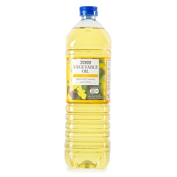 Tesco Pure Vegetable Oil 1L