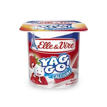 Elle & Vire Yag Go Strawberry 125g
