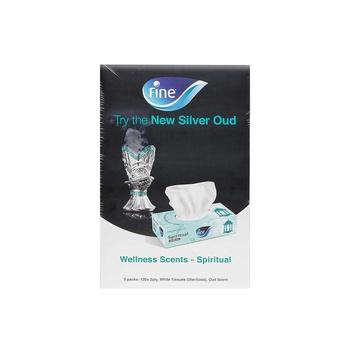 Fine Facial Tissues Silver Oud 120X2Ply