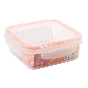Double Lock Food Container 750ml