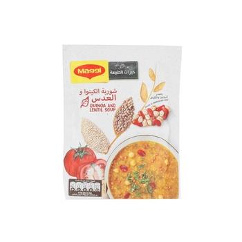 Maggi Soup Quinoa Lentil & Bean 75g