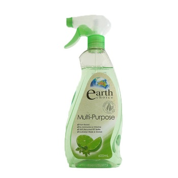 Earth Choice Multi Purpose Cleaner Lime 600ml