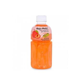 Mogu Mogu Peach With Nata De Coco 320ml