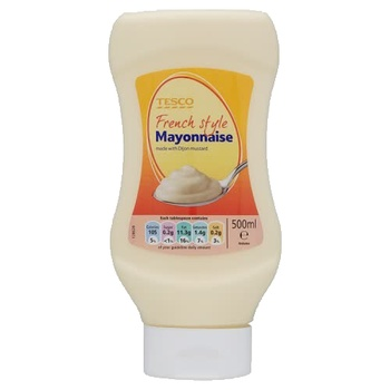 Tesco French Style Mayonnaise 500ml