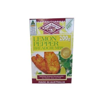 Kook A Krumb Lemon Pepper Breadcrumbs 200g