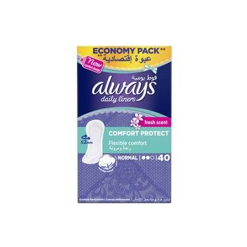 Always Comfort and Protection Liner Fresh 40 pcs