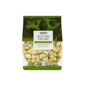 Tesco Frozen Avacado Chunks 500g