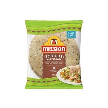 Mission Multigrain Tortilla 384g