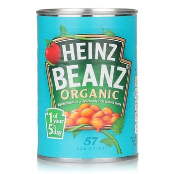 Heinz Baked Beans Organic 415g