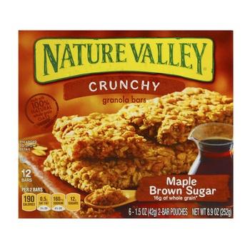 Nature Valley Crunchy Granola Bar Maple Brown Sugar 252g