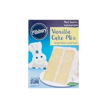 Pillsbury Moist Supreme Cake Mix Golden Vanilla 485g