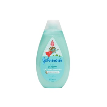 Johnson's 2 in 1 Kids Shampoo & Conditioner 500ml