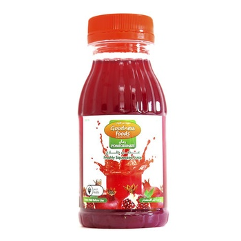 Goodness Foods Freeshly Squeezed Pomegranate Juice 200ml