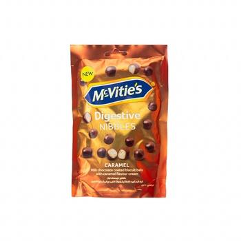 Mcvities Nibbles Caramel 120g