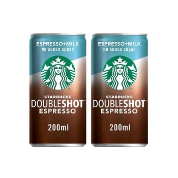 Starbucks Doubleshot Nas 200ml Pack of 2