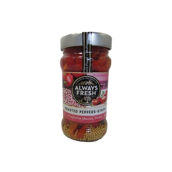 Always Fresh Roasted Peppers Strips 310g