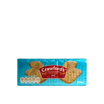 Crowfords Biscuit Nice Coconut Flavour 200g