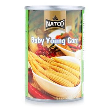 Natco Baby Corn In Brine 425g